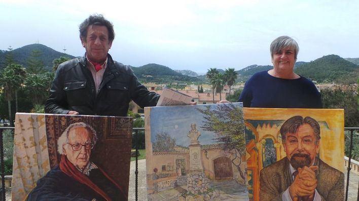 Andratx expone obras de personajes ilustres del municipio