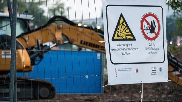 Desactivan una bomba de la Segunda Guerra Mundial en Fránkfurt