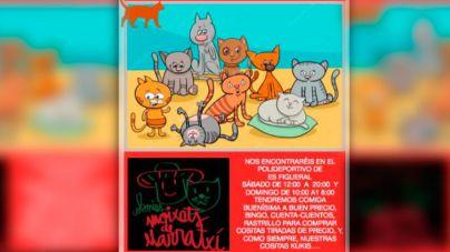 Rastrillo solidario para recaudar fondos para los gatos de Marratxí y Palma