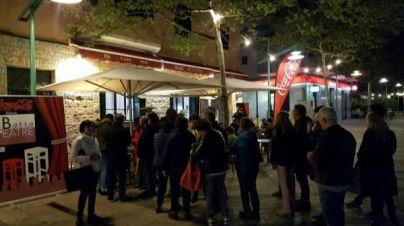 Más de 500 personas disfrutaron de una nueva edición de Teatre de Barra