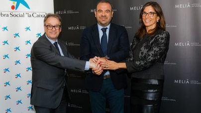 Meliá y La Caixa fomentan la contratación de colectivos vulnerables