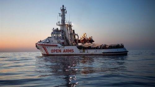 Liberan el Open Arms inmovilizado por presunto tráfico de inmigrantes