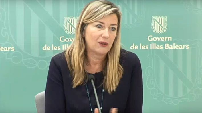 La consellera de Salud de Baleares, Patricia Gómez