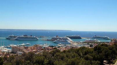 Armengol dice que los cruceros que lleguen a Balears serán más eficientes y contaminarán menos