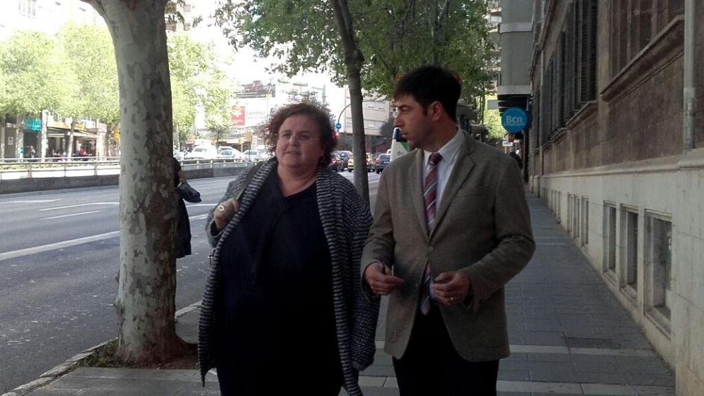 """La exconsellera Ruth Mateu y los investigados de Més por el """"caso contratos"""" comienzan a declarar"""