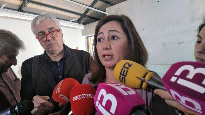 """Armengol: """"la Justicia resolverá el caso contratos, ya se han depurado las responsabilidades políticas"""""""