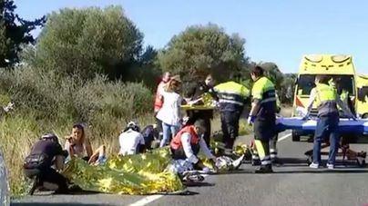 Emergencias ha gestionado 253 accidentes con ciclistas heridos en lo que va de año