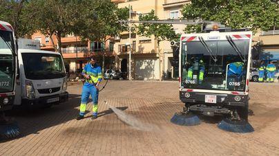 Emaya arranca un nuevo plan de limpieza para 46 barriadas del extrarradio de Palma