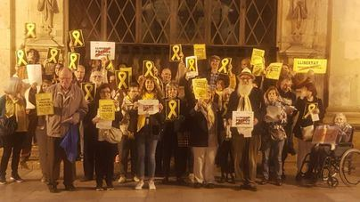 Colectivos pro presos políticos de Mallorca recibirán este sábado a Rajoy con 'El cant dels ocells'