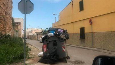Multas de 3.000 euros por tirar restos de obra en contenedores de Sa Pobla