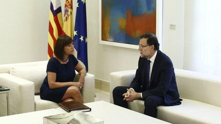"""El Govern pide """"respeto"""" a los ciudadanos de Balears y critica que Rajoy no se reúna con Armengol este sábado"""