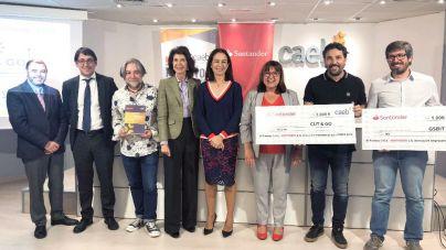 Cut & Go gana el Premio CAEB-Santander a la Innovación Empresarial