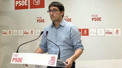 El portavoz del PSIB-PSOE, Iago Negueruela