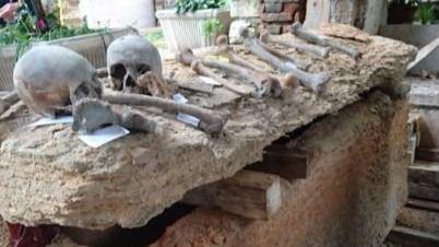Hallados los restos del único gran maestre Templario encontrados hasta ahora