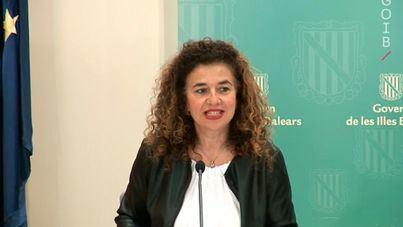 La consellera de Presidencia y portavoz del Govern, Pilar Costa. (Archivo)