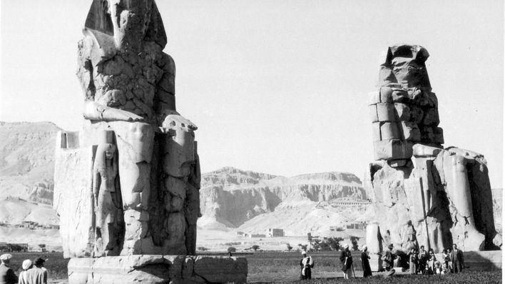 El Castillo Museo San Carlos acoge la exposición 'Egipto 1930'