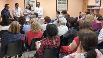Declaraciones en la charla celebrada en el Arenal  'Trabajamos por lo que importa'