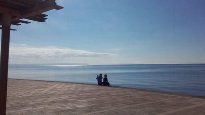 Cielo poco nuboso y temperaturas en ascenso en Mallorca