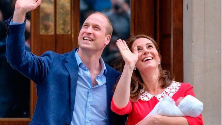 Los duques de Cambridge ya son padres de su tercer hijo