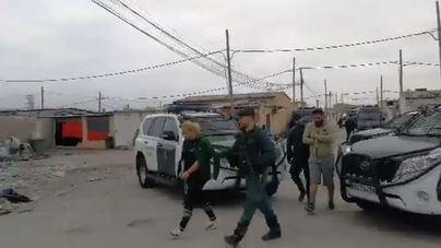 La Guardia Civil descabeza los principales clanes del narcotráfico de Palma
