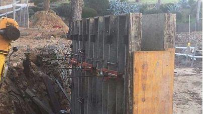 El GOB exige la paralización del 'atentado' de unas obras en la Caleta de Portals