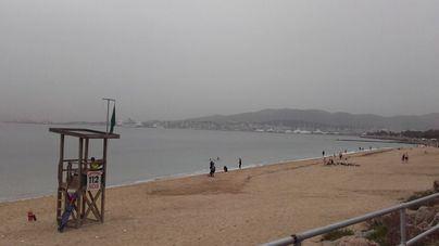 Cielos nubosos con alguna lluvia débil acompañada de barro en Mallorca