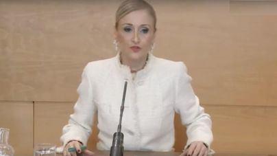 """Cifuentes seguirá en la Asamblea de Madrid con """"dedicación exclusiva"""""""