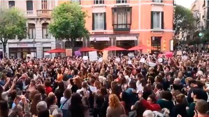 Clamor en Palma y Manacor contra la sentencia de 'La Manada'