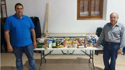 Andratx ha entregado 200 kilos de alimentos a Cáritas