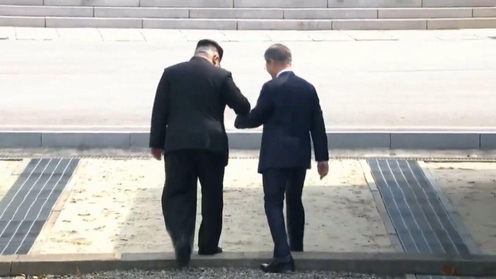 Los líderes de las dos Coreas se reúnen para iniciar una era de paz
