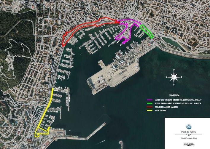 Reforma del Contramuelle y del Puerto de Palma (PortsIB)