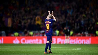 Iniesta anuncia que abandonará el Barça a final de esta temporada
