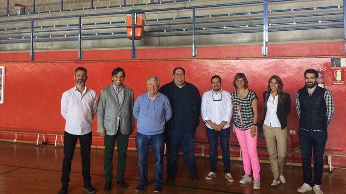 Alcúdia inicia las obras de mejora en las pistas del pabellón municipal