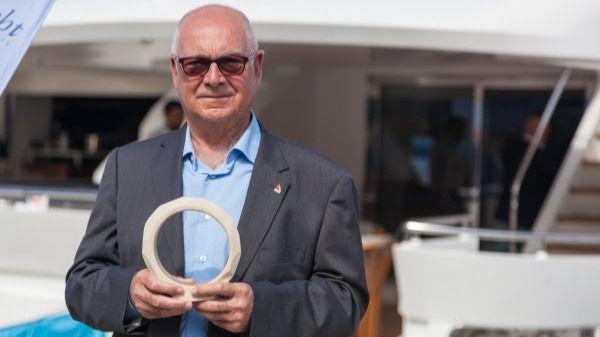 El presidente de los Clubes Náuticos de Baleares, Premio Marcial Sánchez Barcáiztegui