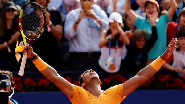 Nadal gana su undécimo título en el Trofeo Conde de Godó