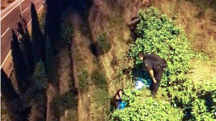 La Policía Local evita que una joven se suicide en la autopista de Andratx