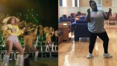 Una joven imita el baile de Beyoncé en Coachella y twitter se rinde a sus pies