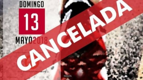 MegaSport cancela su IV Carrera Popular