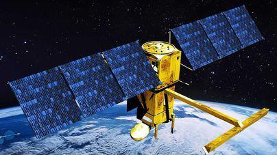 Recreación digital del futuro satélite SWOT
