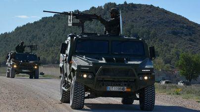 Unidades de Balears realizan ejercicios de instrucción en Albacete