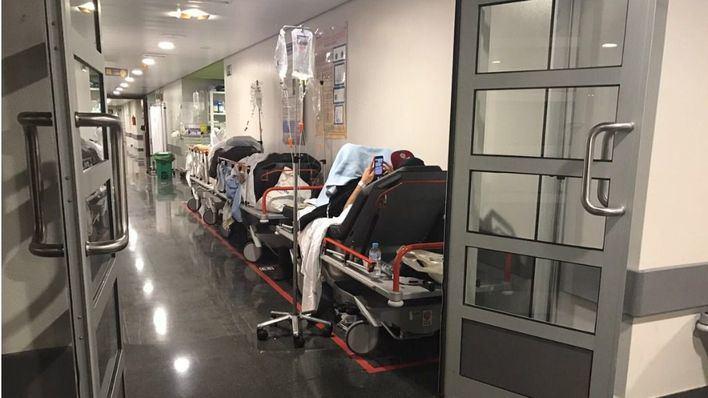 160 pacientes en urgencias: alertan del colapso este fin de semana en Son Espases por falta de personal