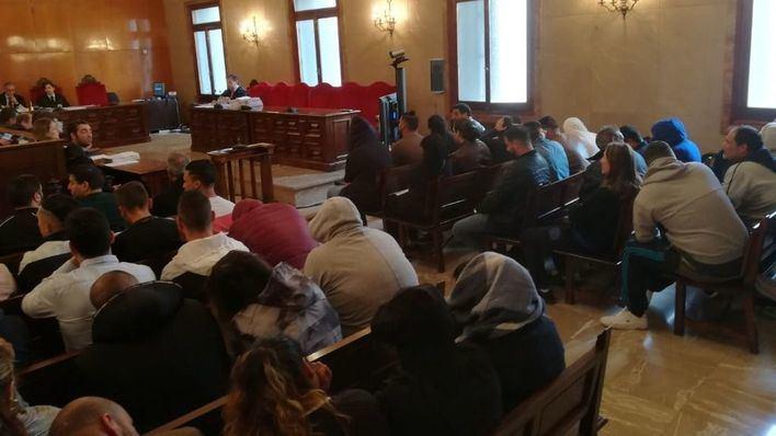 46 de los 52 acusados del clan 'El Pablo' aceptan 99 años de cárcel tras el acuerdo con la Fiscalía