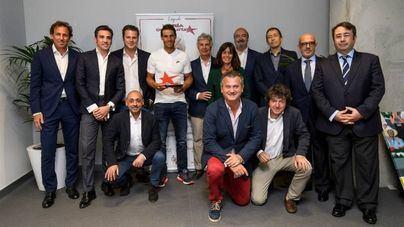 """Nadal, premio """"Maria de Villota Hazaña Deportiva""""en Madrid"""