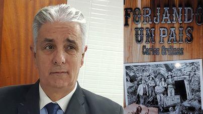 Carlos Ordinas presenta en Palma su nueva novela Forjando un país