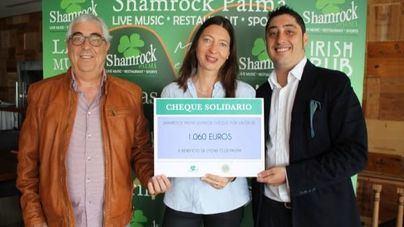 Shamrock entrega 1.060 euros a Lions Club Palma