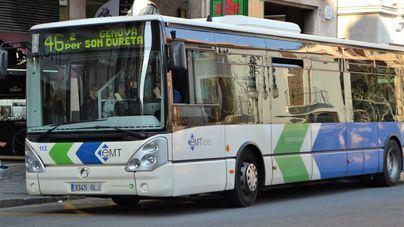 El número de usuarios de metro sube en marzo mientras cae el de autobuses de Palma