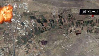 Israel bombardea posiciones iraníes en Siria