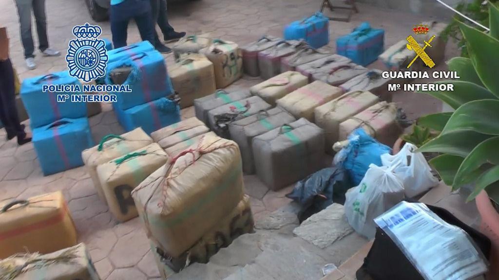 23 detenidos en una operación internacional contra el narcotráfico