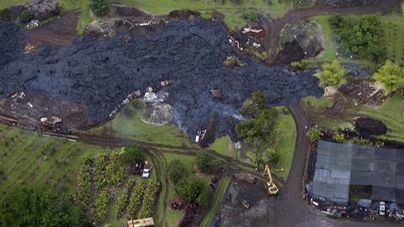 Alerta en Hawái por el gas tóxico del volcán Kilauea