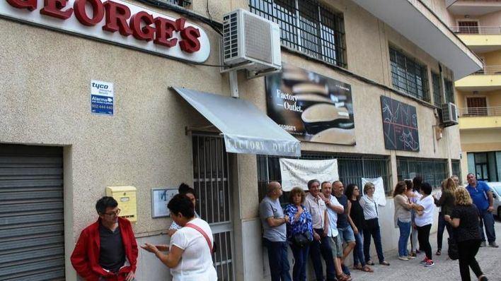 El Tribunal Superior declara nulo el despido colectivo de la plantilla de calzados George's
